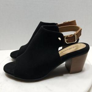 Croft & Barrow Sabrina size 8 Heeled Mules Black